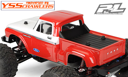 Proline Racing 1966 Ford F-100 Clear Body! [Clear]
