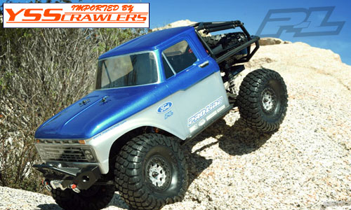 Proline 1966 Ford F-100 Clear Body for Axial SCX10 Honcho! [Clear]