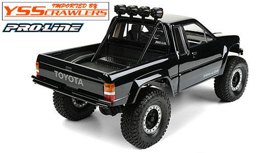 Proline 1985 Toyota HiLux SR5 Clear Body for SCX10 Honcho