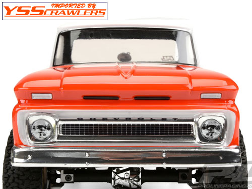 Proline Racing 1966 Chevrolet C-10 Clear Body (Cab + Bed) for 12.3