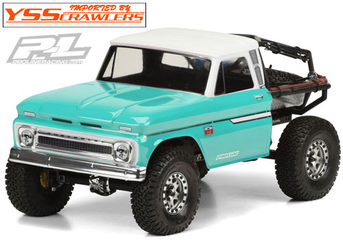 Proline 1966 Chevrolet C-10 Clear Body for Axial SCX10 Honcho! [Clear]