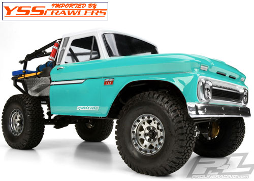 プロライン 1966 Chevy C10 for Axial SCX10 Honcho![Cab]