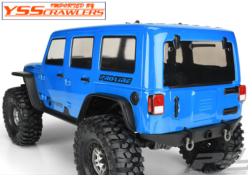 Proline Racing Jeep Wrangler Unlimited Rubicon Clear Body for 12.8