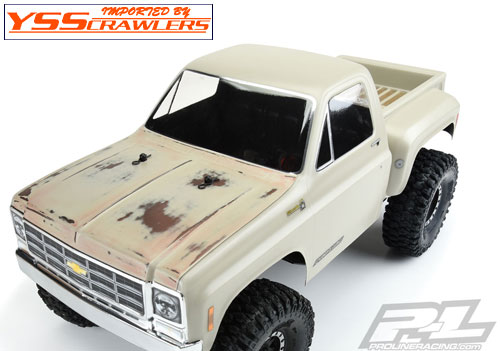 PL 1978 Chevy K-10 Clear Body (Cab & Bed)