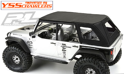 Proline ティンバーライン ソフトトップ for Axial SCX10 Jeep Wrangler Unlimited