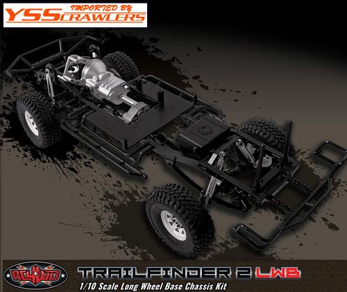 RC4WD トレールファインダー2 LWB トラックキット!