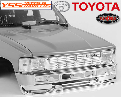 RC4WD 1985 Toyota 4Runner Clear Parts (A)