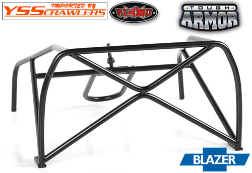 RC4WD Tough Armor Tube Roll Bar w/Rear Tire Mount for Chevy Blazer
