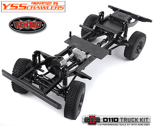 RC4WD Gelande II D110 Truck Kit With Hard Body!