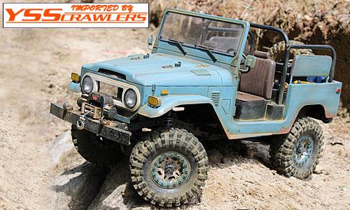 RC4WD ゲレンデ2[Gelande II] トラックキット![FJ40ランクルボディ付]予約