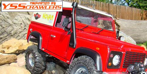 RC4WD サファリ スノーケル For ディフェンダー90