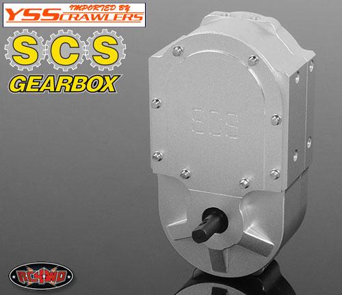 RC4WD SCS ギアボックス モンスタードロップ トランスミッション!