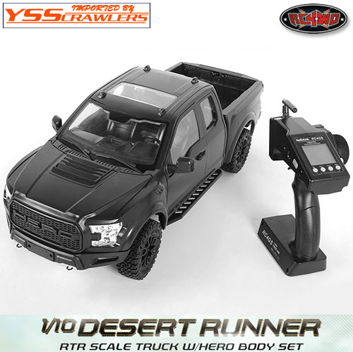 RC4WD 1/10 デザートランナー スケールトラック RTR![HERO][ブラック][予約]