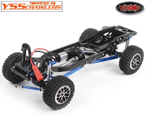 RC4WD 1/24 ラスカル フルメタルスケールトラックシャーシ!