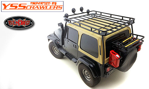 RC4WD Roof Rack for Tamiya CC01