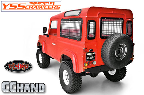 RC4WD Complete Windows Guard Set for Land Rover Defender D90!