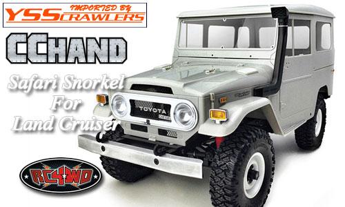 RC4WD スノーケル for ランドクルーザー![CC HAND版][FJ40系]