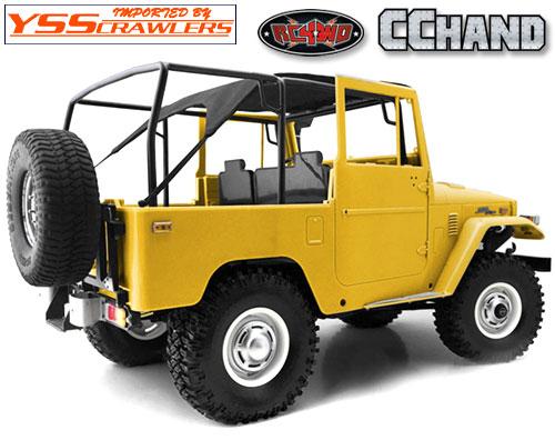 RC4WD FJ40 チューブロールバー & ビキニトップ for クルーザーボディー!