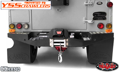 RC4WD Rear Winch Bumper for Gelande II D90 and D110!