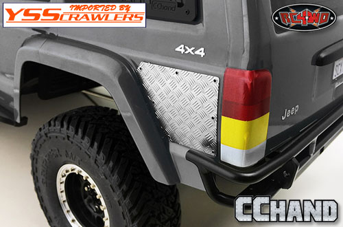 RC4WD Rear Diamond Plates for Axial SCX10 XJ
