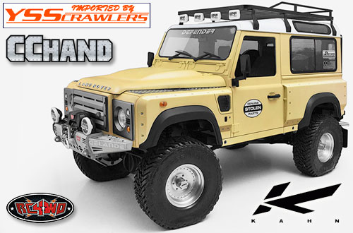 RC4WD カーン[Kahn] デザイン ワイドフェンダーキット for D90!
