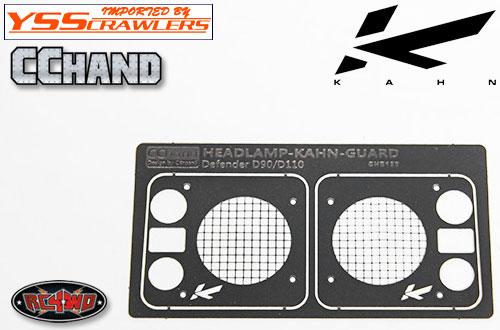 RC4WD カーン[Kahn] デザイン フロントランプガード for D90 D110!