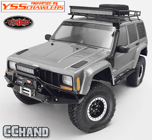 RC4WD ソリッド フロント バンパー for Axial SCX10-II [XJ]!