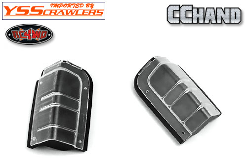 RC4WD Rear Clear Lenses for Axial XJ (Style A)