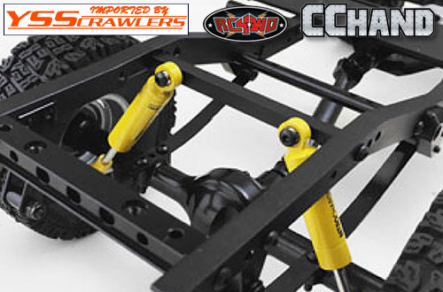 RC4WD Rear Shock Mount for TF2 LWB Chassis and Toyota LC70 Body