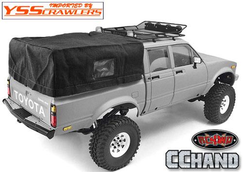 RC4WD ソフトトップ&ロールケージ for Mojave II[ハイラックス4ドア][ブラック]