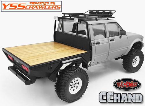 RC4WD ウッド フラットベッド for Mojave II[ハイラックス4ドア]