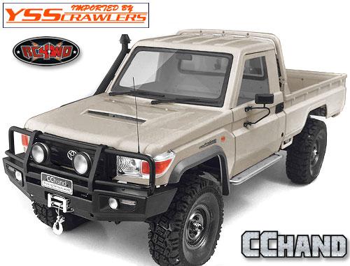 RC4WD Trifecta[トライフェクタ] フロントバンパー for ランクル LC70 ボディー!