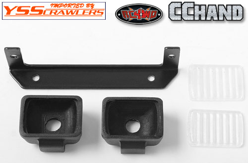 RC4WD Square Lights for Trifecta Front Bumper!