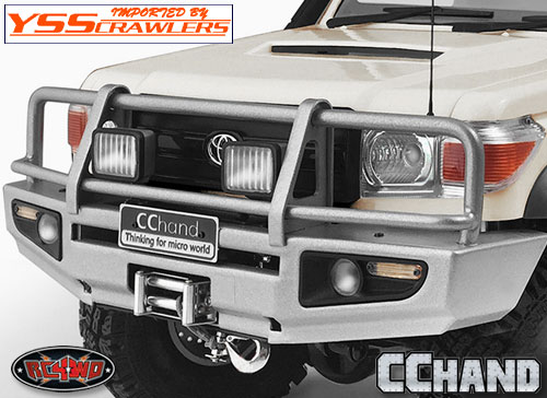 RC4WD 角型ライトセット for Trifecta[トライフェクタ] バンパー!