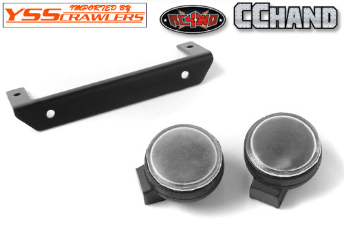 RC4WD Round Lights for Trifecta Front Bumper!
