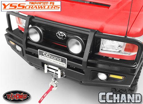 RC4WD 丸型ライトセット for Trifecta[トライフェクタ] バンパー!