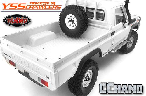 RC4WD リアフェンダーフレアー for ランドクルーザーLC70!
