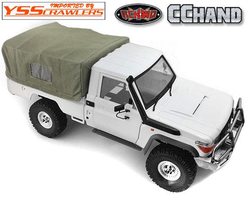 RC4WD ソフトトップ&ロールケージ for ランクルLC70[TF2-LWB][グリーン]