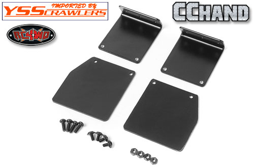RC4WD Rear Mud Flaps for Land Cruiser LC70 Body!
