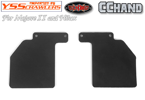 RC4WD  Rear Mud Flaps for Mojave II 2/4 Door Body Set