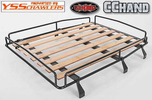 RC4WD Wood Roof Rack w/Lights for RC4WD Cruiser Body
