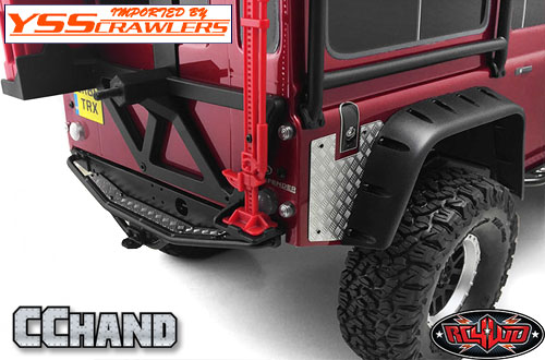 RC4WD Diamond Plate Fender Covers for Traxxas TRX-4!