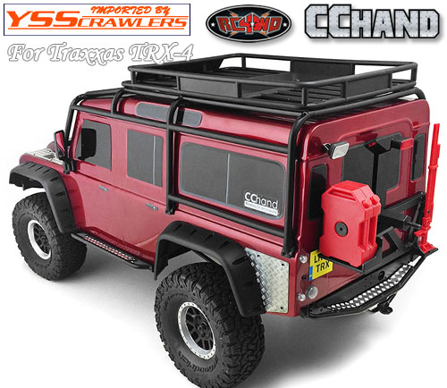 RC4WD Rook Metal Rear Bumper for Traxxas TRX-4!