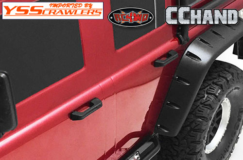 RC4WD Rubber Door Handles for Traxxas TRX-4!