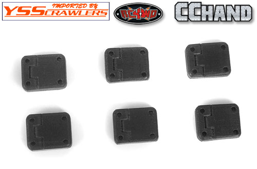 RC4WD Rubber Door Hinges for Traxxas TRX-4!