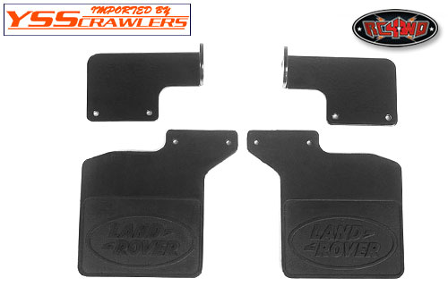RC4WD Rear Mud Flaps for Traxxas TRX-4!