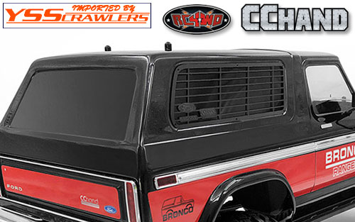 RC4WD Side Window Guards for Traxxas TRX-4 '79 Bronco Ranger XLT!