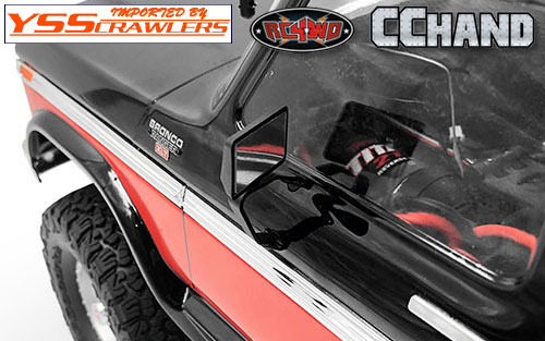 RC4WD Mirror Decals for Traxxas TRX-4 '79 Bronco Ranger XLT