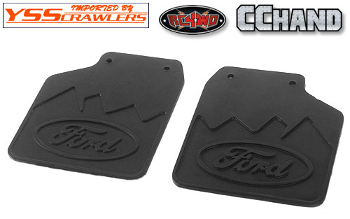 RC4WD Rear Mud Flaps for Traxxas TRX-4 '79 Bronco Ranger XLT