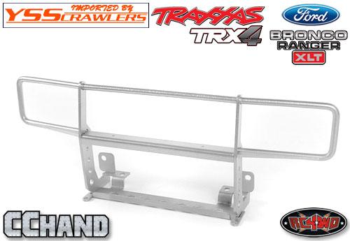 RC4WD ランチ フロント グリルガード for Traxxas TRX-4![BRONCO][シルバー]